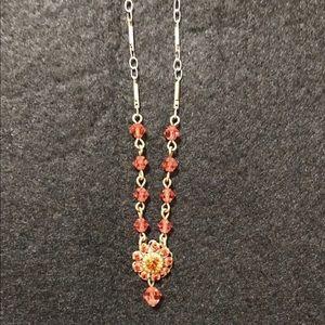 Red Liz Palacios necklace